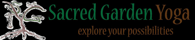 Sacred Garden Yoga Retina Logo