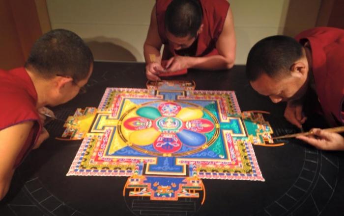drepung loseling monks mandala